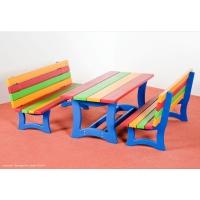 Kindergartenbänke+Tische