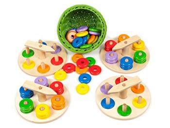 Zeiger-Steckspiel-Set - Sina