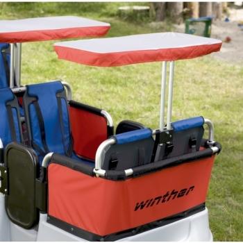 Winther Zubehör für Turtle Bus Sonnenschutz