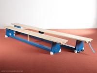 Turnbank - farbig - schmale Ausführung - versch. Längen