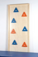 Klettertafel Dreiecke