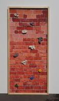 Free-Climbing-Wand bedruckt
