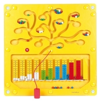 Wandspiel Zahlenbaum
