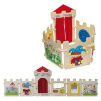 Wandspiel und Krippenelement Burg