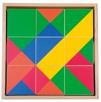 Großes Farb-Lege-Spiel mit 5 Farben