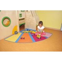 Teppiche Segment Ecke 150 cm