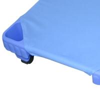 Spannlaken Blau, 100 - 160 cm
