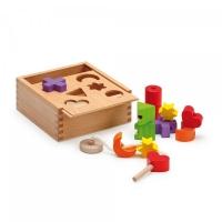 Steck- und Fädelbox - Erzi