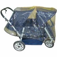 Regenschutz für Krippenwagen