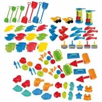 4er Set Schaufeln groß - verschiedene Farben