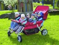 Krippenwagen 6-Sitzer Sommermobil