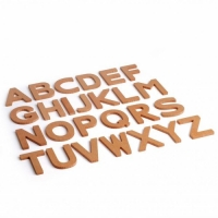 Holzbuchstaben 3D